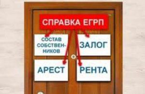 В выписке из ЕГРП содержаться все обременения наложенные на имущество