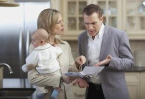 Раздел совместной собственности супругов производится с учетом интересов детей