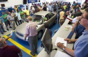 Продажа находящегося в залоге автомобиля на торгах