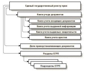 Структура единого реестра прав на недвижимость