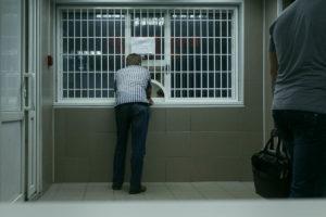 Обращение в отделение полиции по поводу кражи