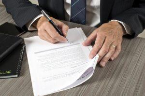 Подписание договора о залоге  недвижимого имущества