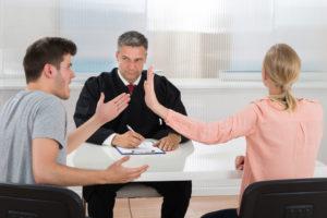 Раздел имущества при разводе в суде