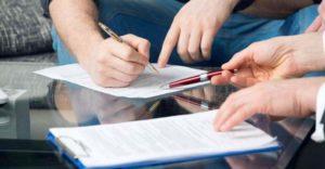 Договор дарения с передачей предмета в будущем заключается в письменной форме