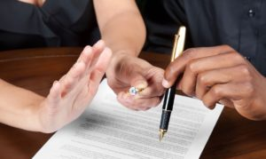 Заключение добровольного соглашения о разделе имущества при разводе