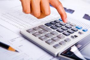 Расчет платежей по налогу на имущество