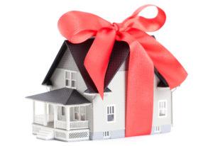 Получение недвижимости по договору дарения