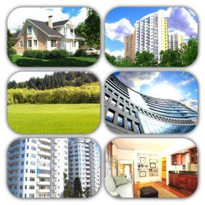 Виды объектов недвижимости
