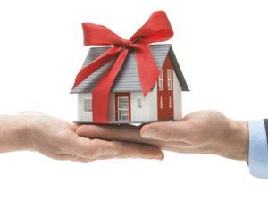 Раздел недвижимого имущества полученного по договору дарения