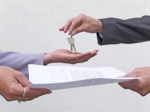 Заключение соглашения об аренде квартиры