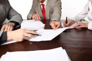 Соглашение о разделе имущества составляется в трех экземплярах