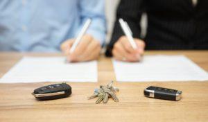 Подписание соглашения о разделе имущества