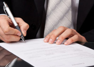 Составление договора отвественного хранения имущества