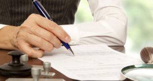 Заверение нотариусом соглашения о разделе имущества