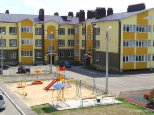 Определение границ придомовой территории