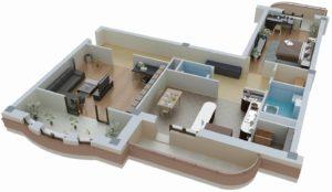 Проведение перепланировки квартиры для выдела доли в натуре