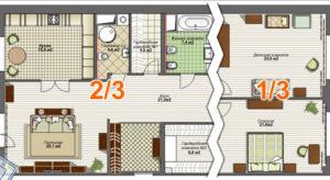 Квартира в долевой собственности