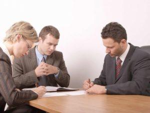 Подписание соглашения о разделе дома