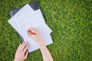 Подготовка документов для регистрации прав на земельный участок