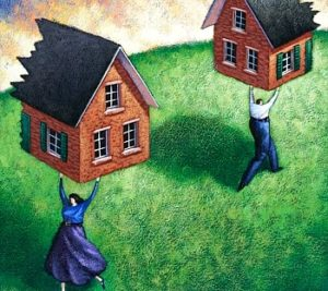 Споры о земле при разводе