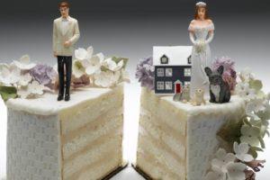 Раздел имущества супругов при разводе производится по брачному договору