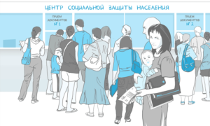 Обращение в Центр социальной защиты населения