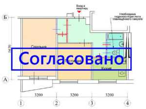 Проект проведения перепланировки должен быть согласован в жилищной инспекции