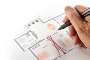 Перепланировка с изменением перегораживающих конструкций