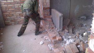 При проведении перепланировки не допускается снос несущих стен