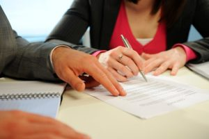 Заключение договора о разделе совместного имущества
