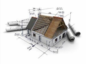 К заявлению прилагается проектно-сметная документация на дом