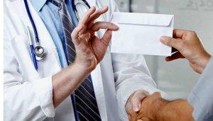 Запрещено дарение сотрудникам лечебных учреждений