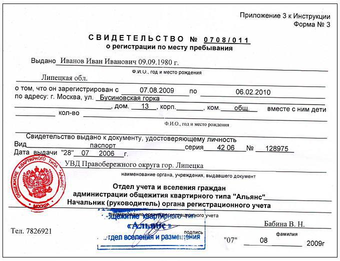 Временная регистрация в московской области форум нужные документы для временной регистрации