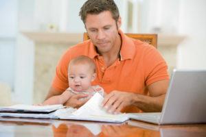 Ребенок может быть зарегистрирован по месту жительства отца