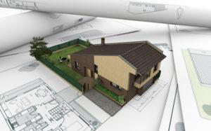 Проект строительства частного дома