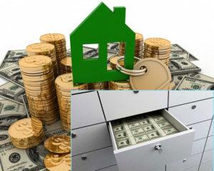 Расчет за недвижимость через банковскую ячейку