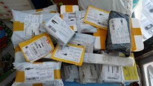 Доставка товаров из интернет-магазина по почте
