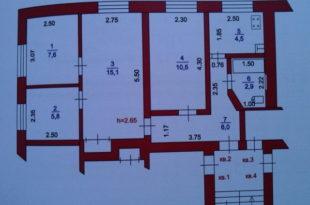 Поэтажный план на квартиру
